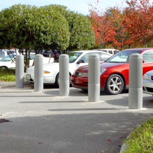 Ribbed Decorative Bollard Cover : J&P Signs And Safety